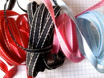 7mm Denim  Ribbon  Choice of Colours